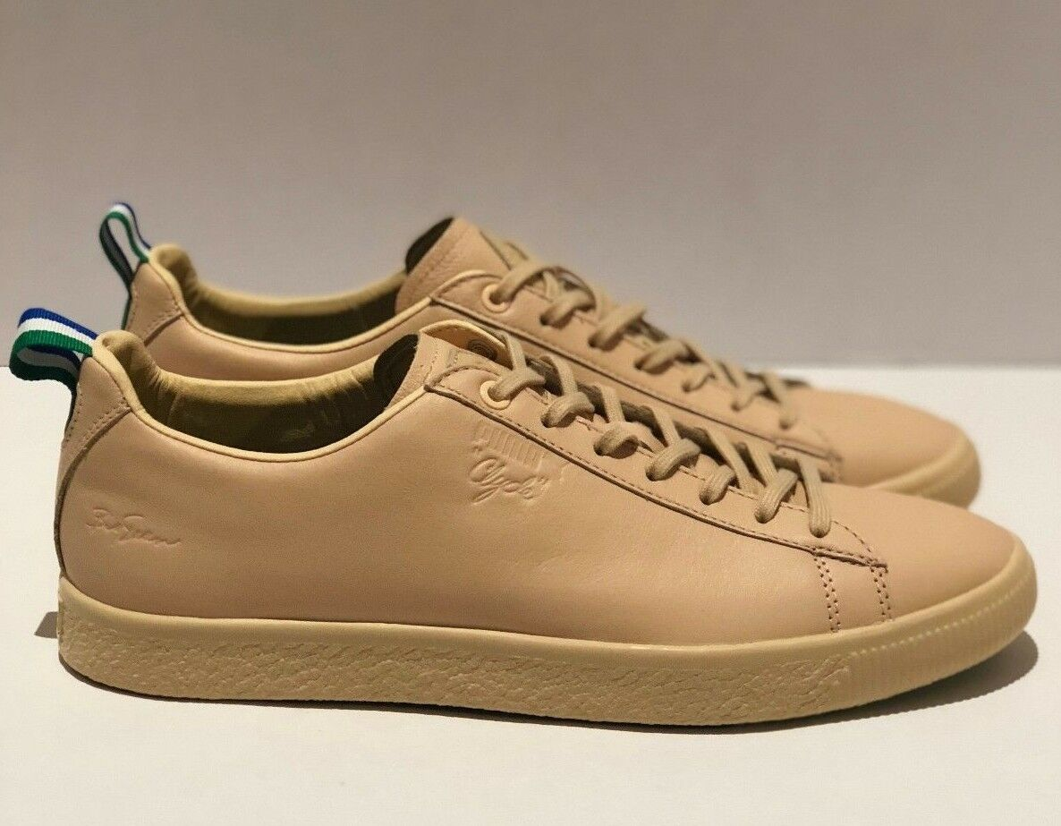 Puma x Big Sean Uomo sz 9.5 - 10.5 Clyde Vachetta Tan  Limited Edition
