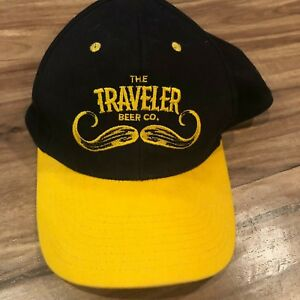 Image is loading Black-Yellow-The-Traveler-Beer-Co-Hat-Craft- a62639a05ddf