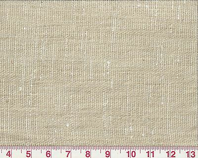 Beige White Variegated Sheer Drapery Fabric by Braemore Fabrics Antibes Marble