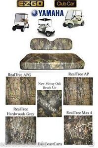 Ezgo Club Car Yamaha Golf Cart Camo Camouflage Cordura