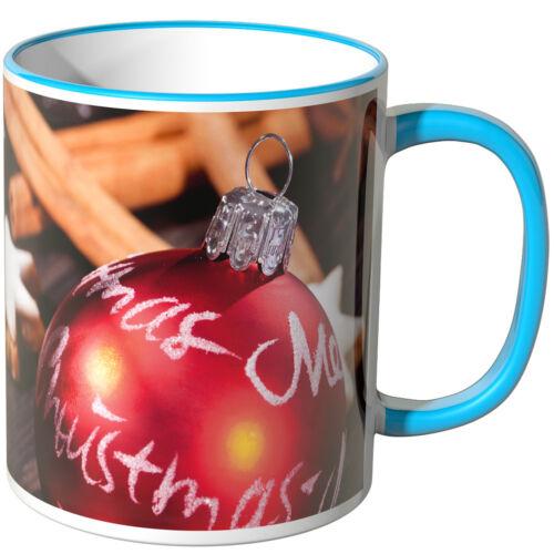 """inscripciones /""""weihnachtspunsch/"""" varios colores regalo de Navidad Wandkings taza"""