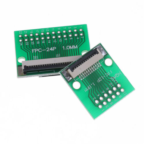 Hot 12 Pin 0.5mm FFC FPC to 12P DIP 2.54mm PCB Converter Board Adapter JB