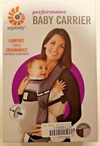 49290154895 Ergobaby Performance 3 Position Baby Carrier - Ventus Graphite for ...