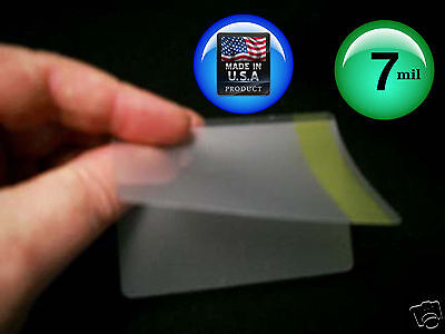 2.63x3.85 Inches 100 per Box USA SELLER #1 3 Mil Credit Card Laminating Pouches