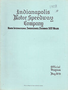 1927-Indianapolis-500-Mile-Sweepstakes-Official-Program-REPRINT