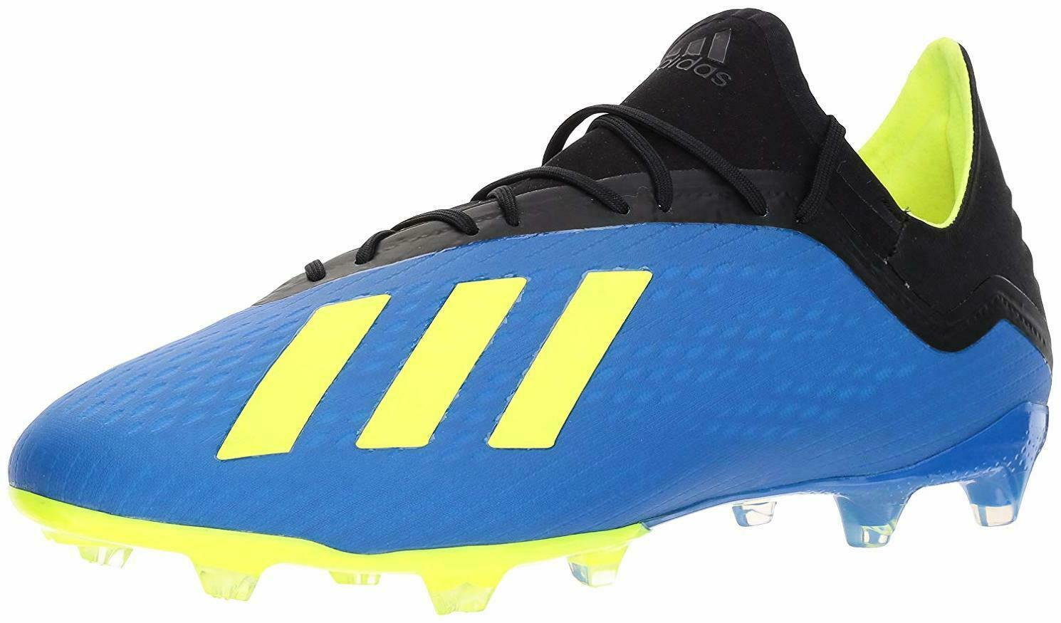 new product a7235 8ab11 Adidas Men s X 18.2 Firm Ground Soccer shoes - Choose SZ color