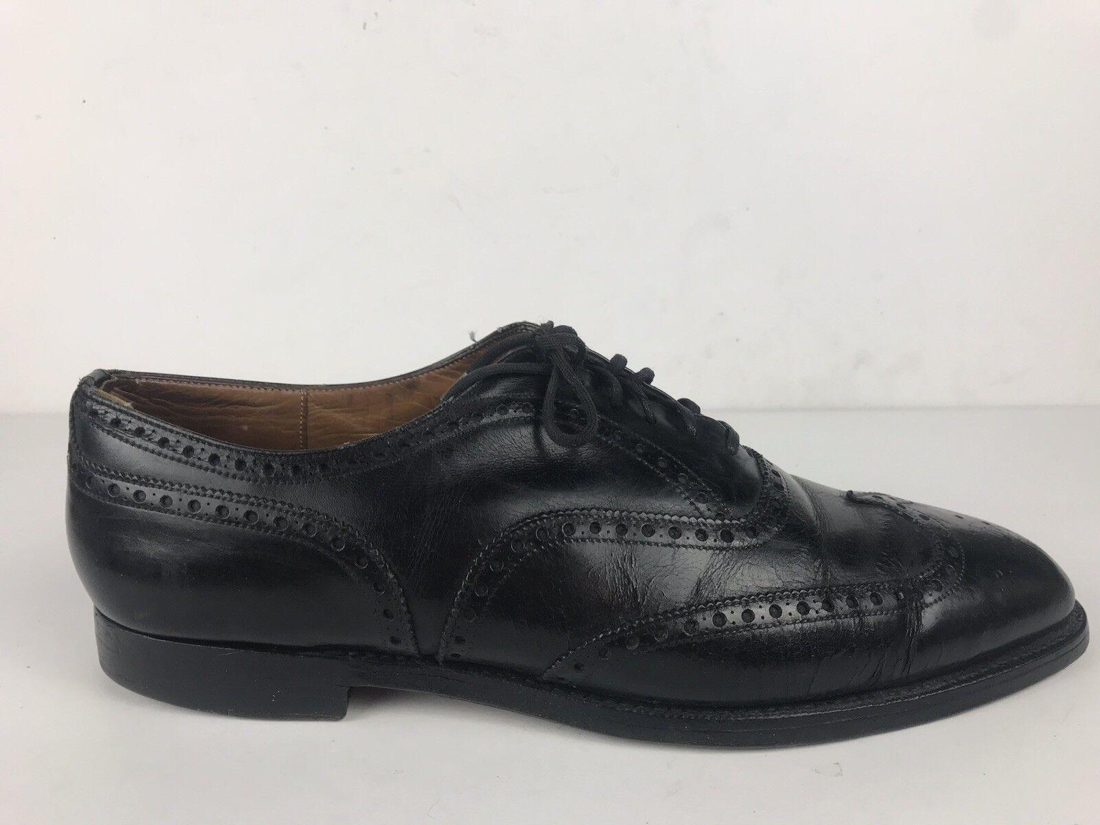 De Colección de la Iglesia Chetwynd personalizado de grado negro punta del ala Formales Zapato 13 D 120