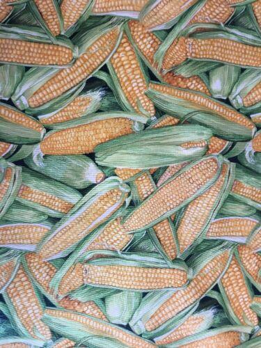 Medio Metro cocinar maíz dulce 100/% algodón MAKOWER Tela Coser//quilting