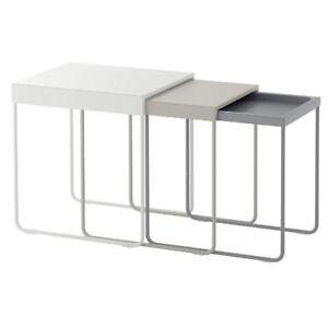 Ikea Granboda Satztische 3 Stuck 3er Set Tische Couchtische