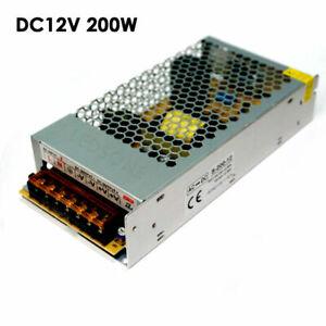 AC 100-220V à DC 12V Alimentation Transformateur LED Adaptat