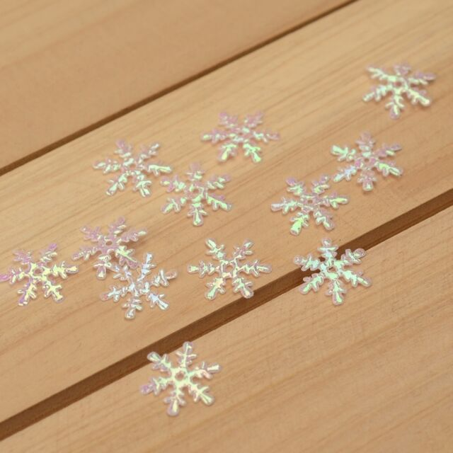 DIY 100Pcs felt snowflake/Appliques/craft/Wedding decoration  H159