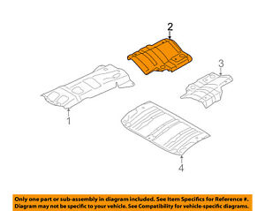 subaru oem 09 13 forester heat shields exhaust muffler shield right 2003 Subaru Forester Parts Diagram image is loading subaru oem 09 13 forester heat shields exhaust
