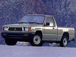 FRONT HOOD RUBBER BUMPER For Mitsubishi Mighty Max L200 Triton 1986-1996