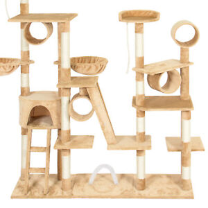 Image Is Loading Tall Cat Tree House Stand Condo Set Tower