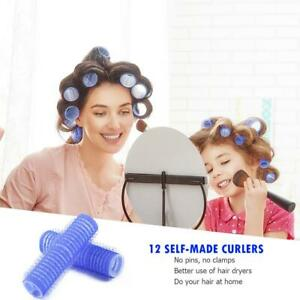 12PCS-pack-Self-Grip-Hair-Rollers-Cling-Any-Size-DIY-Hairdressing-Hair-Curlers