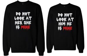 Do-Not-Look-At-Her-or-Him-Scary-Couple-Sweatshirts-Halloween-Matching-Sweaters