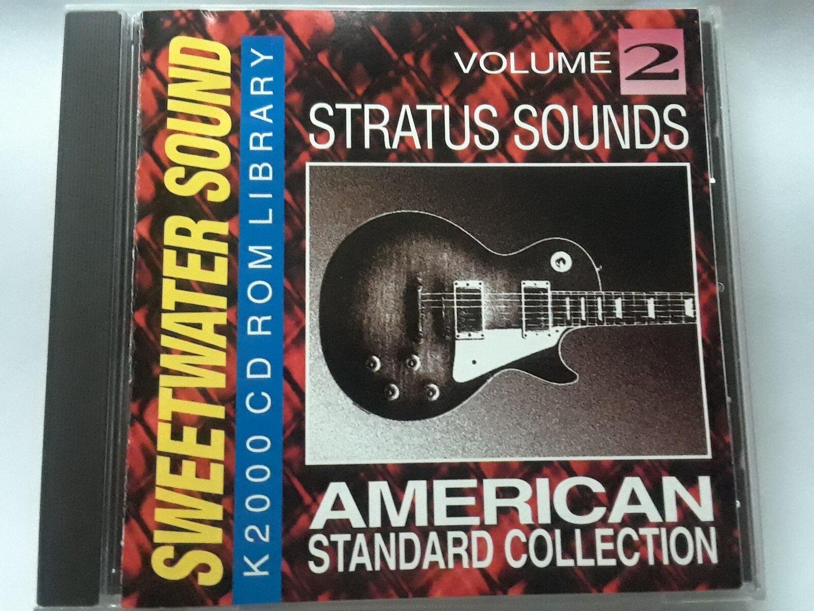 Kurzweil  Sweetwater Sonido  American American American Standard vol.2  Original K2000 CD-ROM   promocionales de incentivo