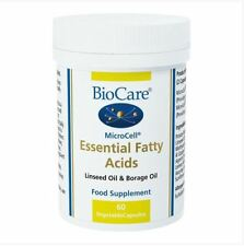 BioCare MicroCell® Essential Fatty Acids Food Supplement 60 Vegetable Capsules