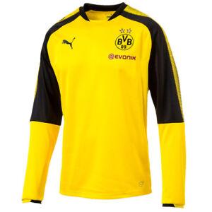 La imagen se está cargando Puma-Borussia-Dortmund-BVB-Sudadera-Para-Hombre- Entrenamiento- c758dac4d2e4e