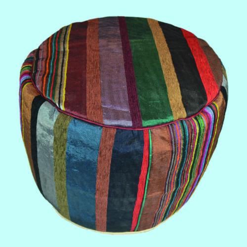 Pouffe Handmade Moroccan Silk