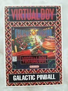 Virtual-Boy-Galactic-Pinball-Vidpro-Card-Prototype-Promo-Store-Display-Sign-VTG
