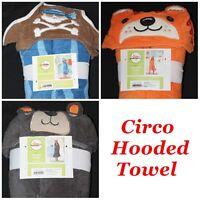 Circo Kids Hooded Bath Towel Pirate Bear Tiger