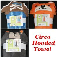 Circo Kids Hooded Bath Towel Pirate Bear Tiger