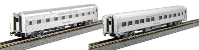 Kato N Scale Santa Fe ATSF Passenger Sleeper 2 Car Set 1066011