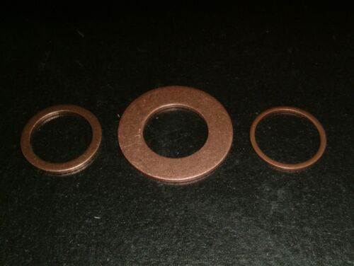 M18 Copper Washers Choose from  3 different sizes 10 per pack