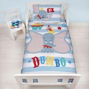 Details Sur Junior Bebe Dumbo Cirque Housse De Couette Et Taie D Oreiller Set Disney