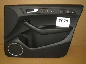 Audi-Q5-8R-Pannello-Porta-Lato-Passeggero-Destra-Frontale-Rivestimento-Nero