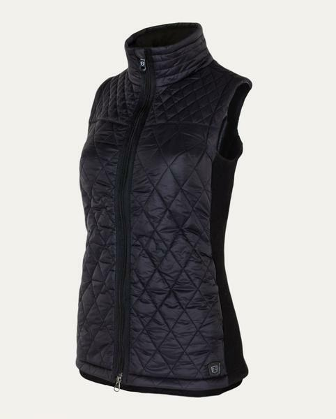 NEW  Noble Outfitters Ladies Classic Quilted Vest   Gilet Dark Navy Size XS - L