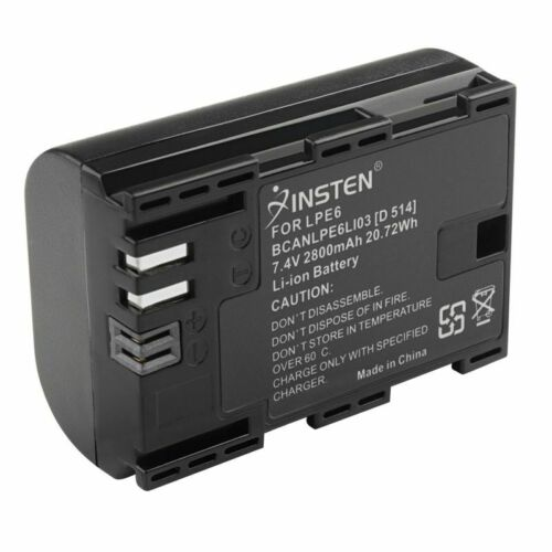 1 pc LP-E6 Li-ion battery For Canon EOS 7D