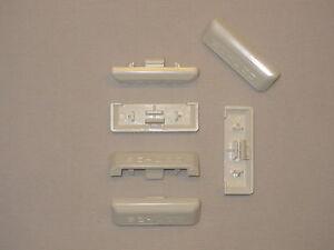 Wasserschlitzkappen 10 Stk Für Pvc Fenster Weiß Original Schüco
