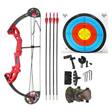 EK Archery Outdoors Compound Chameleon Bow and Arrow Set 10-15lbs Youth