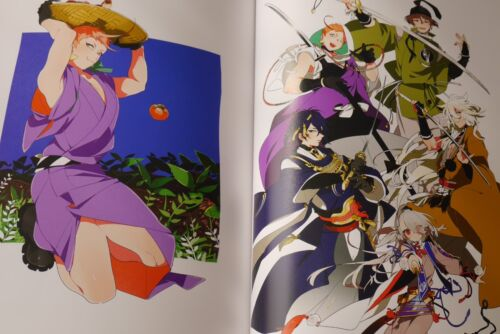 "JAPAN Kinako Art Works /""Carnival/"" Gatchaman Crowds,Touken Ranbu /& Other Art Book"