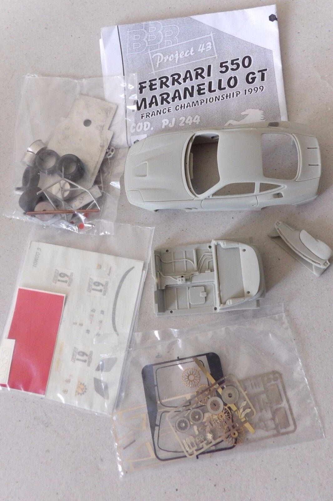 Kit FERRARI  550 Maranello  GT FFSA 1999 -----------BBR 1   43°