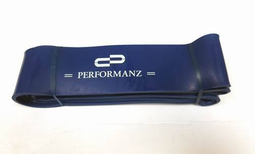 Performanz Blue Resistance Band Fitness, Exercise, Yoga, Crossfit - 65-175 lbs