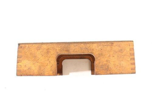 alte Kiste Holz 12x24x7cm Transportkiste Aufbewahrung Messwerkzeug vintage