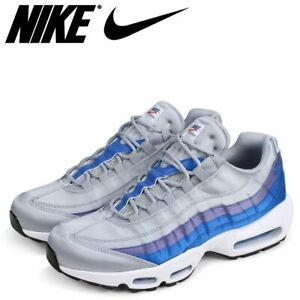 new styles temperament shoes discount shop Details about Nike Air Max 95 SE Men's Sneakers WOLF/GREY/BLUE AJ2018-001  Sz 11.5 US/45.5 EUR