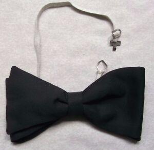 Diplomatique Vintage Bow Tie Homme Dickie Nœud Papillon Rétro Réglable Noir-afficher Le Titre D'origine Complet Dans Les SpéCifications