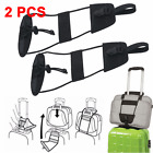 1/2pcs Add A Bag Strap Luggage Suitcase Adjustable Belt Carry On Bungee Travel