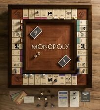 Monopoly Deluxe Tempered Glass Board Game