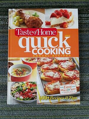 Quick Cooking 2015 Taste Of Home Cookbook Annual Recipes Ebay