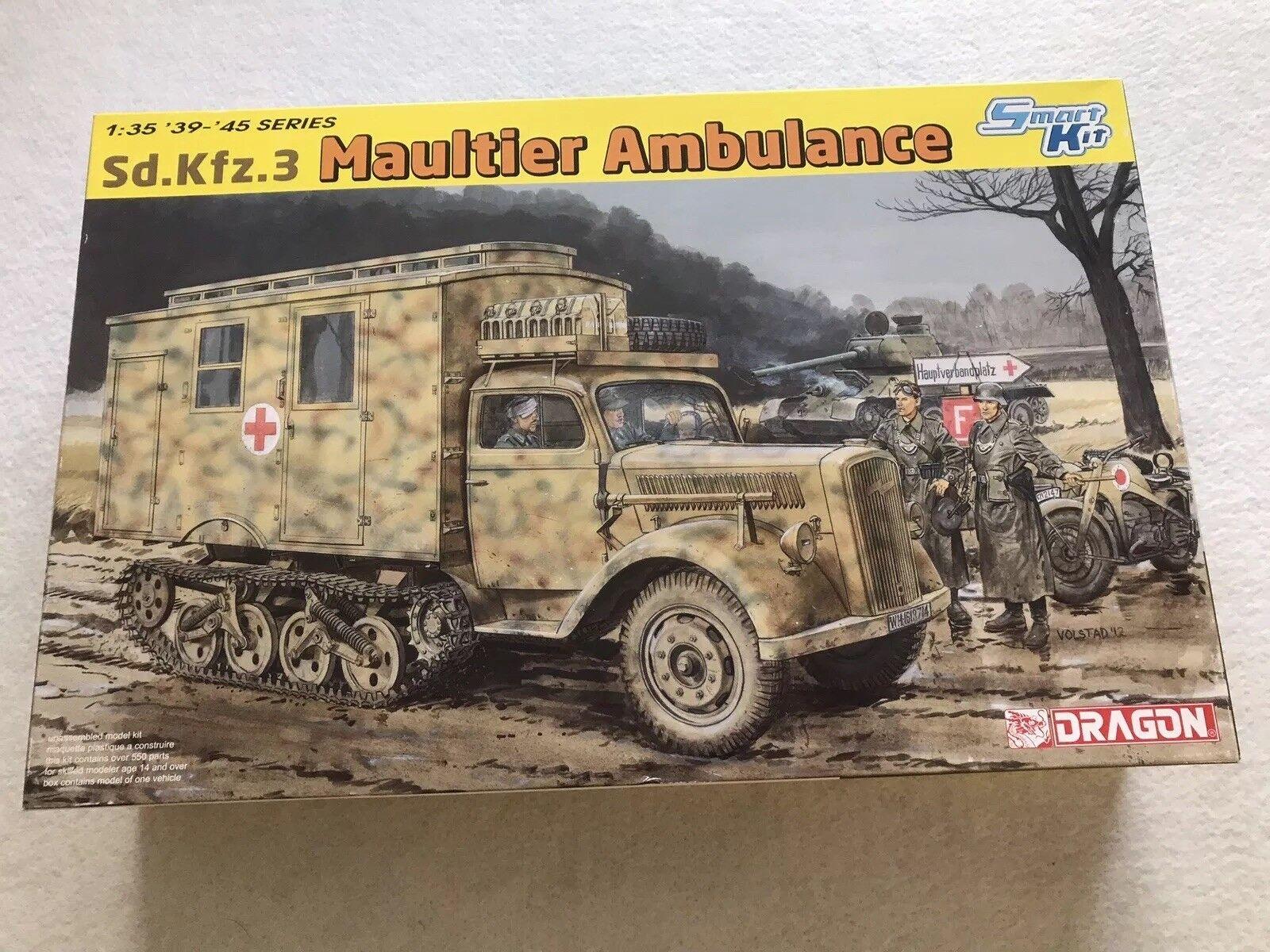 Dragon 1 35 Maultier Ambulance