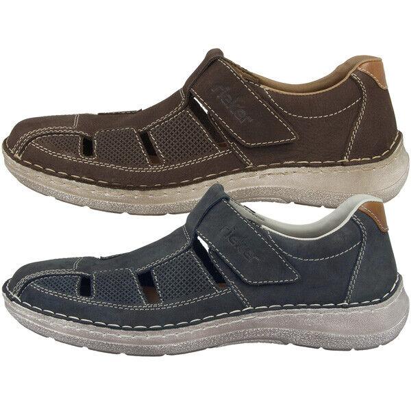 Rieker Jaipur-Bakersfield zapatos Men calcetines de tiempo libre zapato bajo mocasines 03065