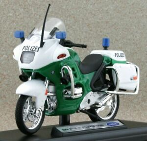 BMW R1100 RT - Motorrad Polizei - WELLY 1:18