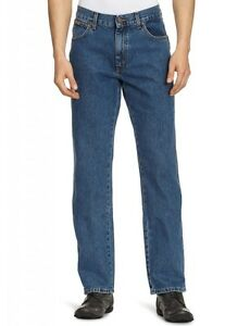 cba80be8f6a8 Wrangler Texas Jeans Stonewash Blue Men s New Regular Straight Fit ...
