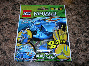 Details about SEALED LEGO Ninjago JAY ZX Booster Pack 9553 blue ninja  minifigure weapons cards