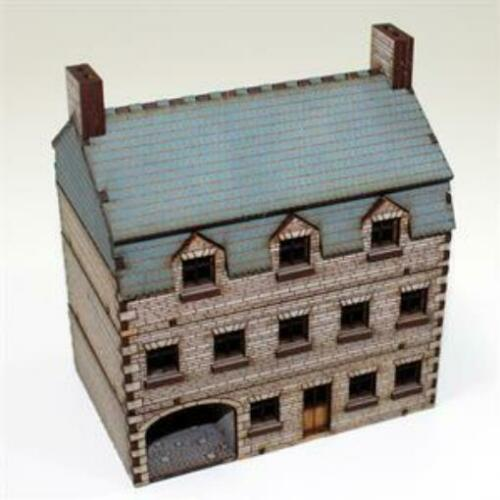 Pack New Pre-Painted 4Ground 15mm Europe At War  Stone Hotel